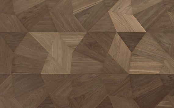 Напольное покрытие - геометрический модуль Frammenti.  Модуль коллекции «Design», инкрустированный вручную.